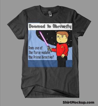 My own comic strip shirt idea
