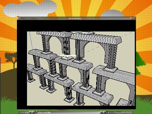 Google SketchUp on Linux