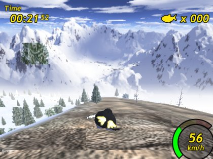 TuxRacer screenshot
