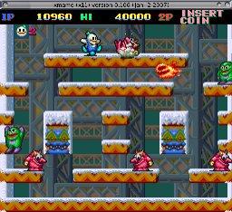 Snow Bros. screenshot