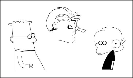Three Cartoon Caracters
