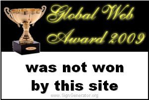 not my web award